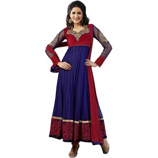 Triveni Aristocratic Embroidered Net Anarkali Suit 302