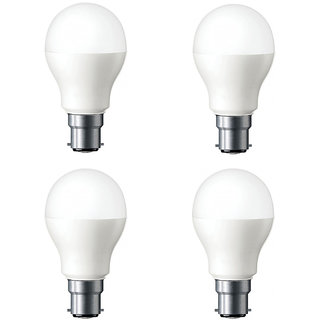 5 W LED Bulb Combo Pack (White, Pack of 4) Cool Daylight