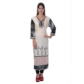 Sana Designer Cotton Long Kurti