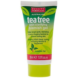 Beauty Formulas Blemish Gel With Tea Tree, 30Ml