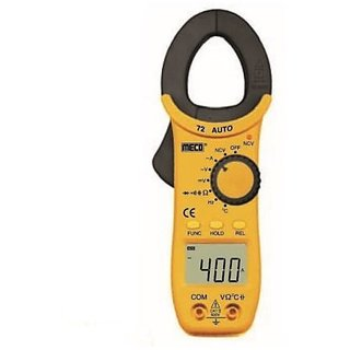 Meco, 400 A, 25 mm, Clamp Meter, 72-AUTO