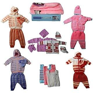 Little Bunnies Newborn Assorted Woollen Clothing Kit