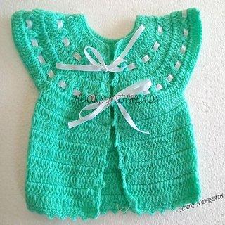 Handmade Crochet Baby Cardigan