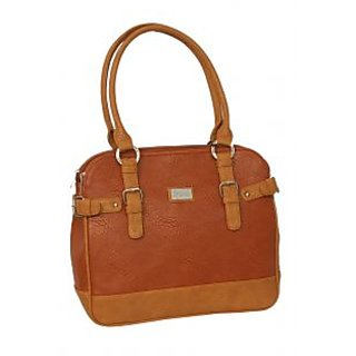 Elegant Rust Brown Stylish Women Handbag By Greek Sojourn