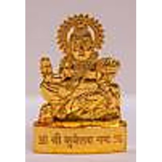 Lord Kubera Idol from Brass  KZMI006