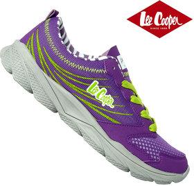 Lee Cooper Women Sports shoe 0462 Purple Lime