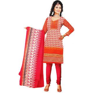 Majaajan Multicolor Beautiful  Unstitched Dress Materials