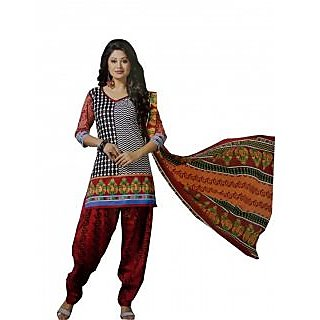 richa cotton drees material (S1047)