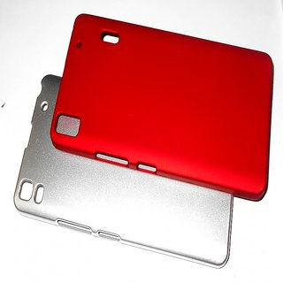 Hard Plastic Back Cover for Lenovo A7000 + Free Screen Guard ( COMBO 3)