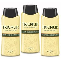 Trichup Healthy, Long Strong Shampoo For Daily-use Combo Pack of 3 (200ml)