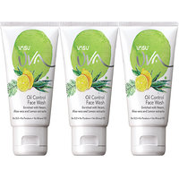 Vasu Uva Oil Control Herbal Face Wash Combo Pack Of 3x60gm
