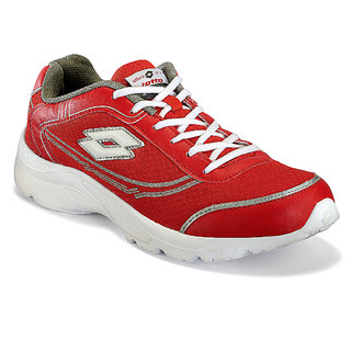 Lotto Men's Red Running Shoes