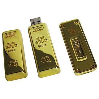 Microware Golden Biscuit Shape Designer 4GB Pendrive Fancy Pendrive