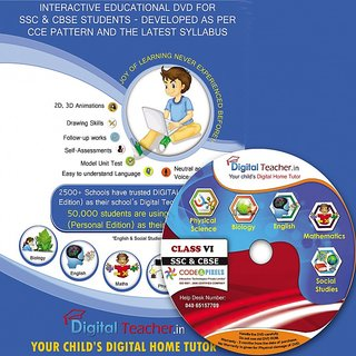 Digital Teacher - Class VII for SSC (Telugu States) CBSE Students CCE pattern