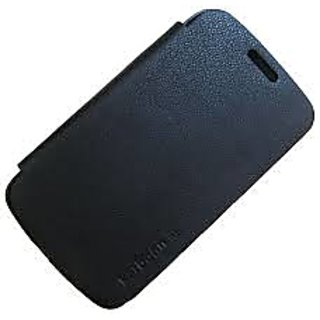 Karbonn  A5 Star Flip Cover Black