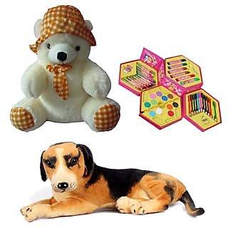 Soft Toys  Art Set Combo