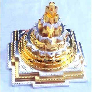 Silver & Gold Meru Shree Yantra