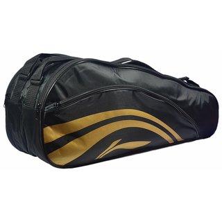 Li-Ning 2-in-1 Thermal Racket Bag(Double Belt) Black at Lowest price