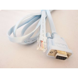 Cisco Console Cable RJ45 to DB9