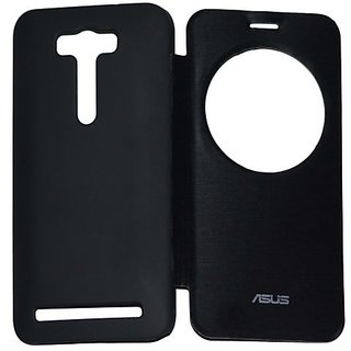 the latest 6d540 e0921 flip cover for Asus Zenfone 2 ZE551ML Smart Quick Circle Window
