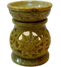 3 Marble Stone Handmade Aroma Diffuser Oil Lamp Burner Oil Warmers