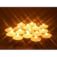 50 PC TEALIGHT CANDLES + 10 PC FRAGRANCE TEALIGHT CANDLES