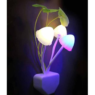 KS Romantic Colorful LED change Sensor Mushroom Light
