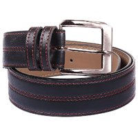 JARS Collections Black Leather BElt
