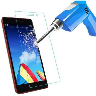 Tempered Glass Screen Protector / Scratch Guard For INFOCUS M2