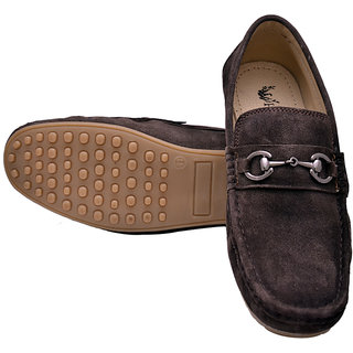 dd92f0d18e2 Buy Hirels Brown Loafers Online - Get 53% Off