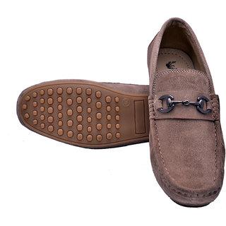 Hirels Beige Loafers