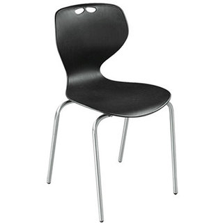 Mavi Beautiful Design Black Color Chair-DRC-655V