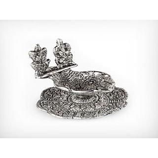 krg Laxmi Ganesha Hand Shape Deepak