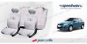 Speedwav Cool Pure White Towel Seat Cover -Maruti Swift Dzire New