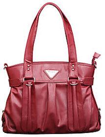 Fostelo Elegant Barbie Magenta Classic Handbag