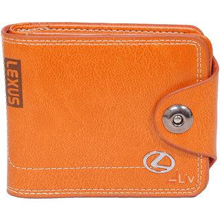 iLiv Lexus Orange Stylish Wallet