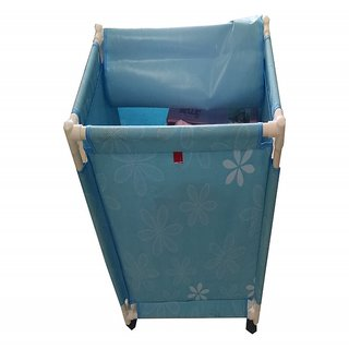 Valtellina India Floral Foldable Laundry Basket(LBR1-01)