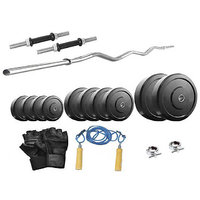 Protoner 8 Kg With 3 Rods Home Gym Package