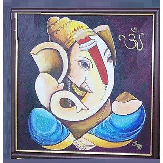Nice and good looking paintings ganesha