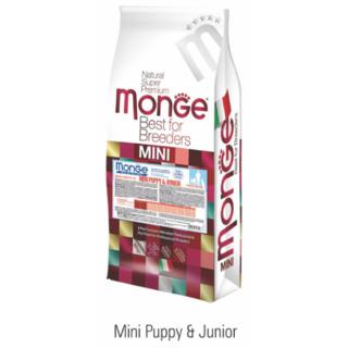MONGE MINI PUPPY  JUNIOR 15 KG