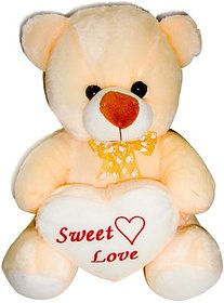Deals India George Teddy Bear - 15 inch (Beige)