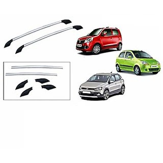 Takecare Non Drillable Aluminium Roofrail For Chevrolet Beat