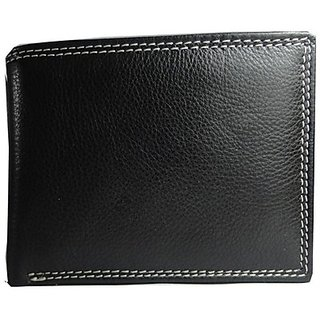 JARS Collections Black Leather Wallet