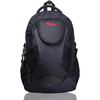 F Gear Black Laptop Bag (13-15 inches)