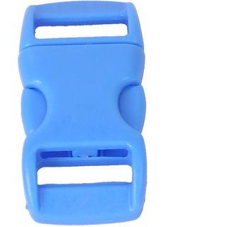 50Pcs 3/8 Inch Side Release Plastic Buckles Light Blue