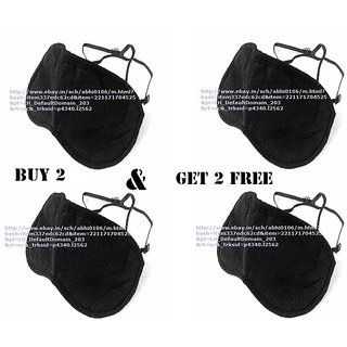 Buy 2 Get 2 Free Eye Mask For Sleeping Aid Traveling Blindfold For Sleep