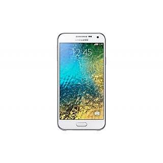 SAMSUNG E5 E500H/DD Mobile (White)