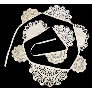 126 Inch Vintage Lace Flag Banner Bunting Home/Wedding/Birthday Party Decor