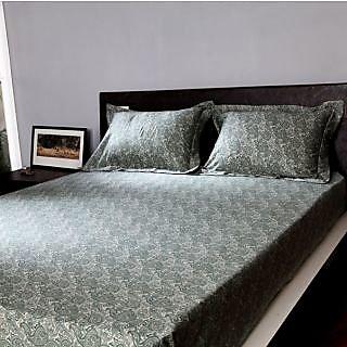 Stoa Paris Green 3pc King Bedsheet Set 300 Thread Count (3002GN)