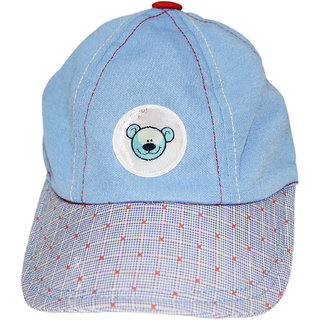 Wonderkids Teddy Patch Kids Cap, 12-18, 18-24  24-36 Months